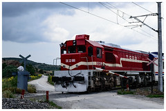 TCDD DE 22080 Diesel Electric Locomotive [1406] (my.travels) Tags: tcdd diesel turkish railways engine machine locomotive electric nikon d3200 eskişehir turkey tr train railroad