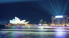 Vivid Sydney (Danny JVP) Tags: vivid sydney light sony beach operahouse color night city nsw