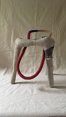 Elephant Loop (Madilworth) Tags: sculpture molly dilworth animation language runevideo alphabet character fabric paper pulp stop motion stopmotion sketch nyc art artist fiber textile thread