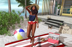 Windy Beach Day (Indigo Avonside of My Sister's Closet) Tags: belleposes eleganceboutique iconic ikon indigo jian lelutka tlc vanity maitreya bento
