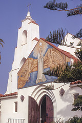 San Diego Church (John M Poltrack) Tags: church imaging places scannedmedia technology unitedstates us