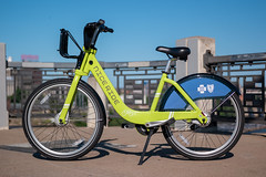 NiceRide bike share Minneapolis (paul.wasneski) Tags: minneapolis minnesota unitedstates us bikeshare bicycle motivate cycle transportation