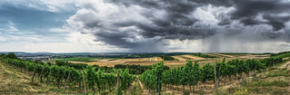 Stormfront over the Nahe River valley