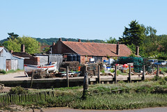 Boatyard at Brancaster Staithe (ho_hokus) Tags: 2018 brancasterstaithe nikond80 norfolk tamron18270mmlens boatyard boat coast eastanglia norfolkcoast nikon