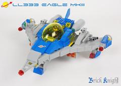 Eagle MkIII 2 (Brick Knight) Tags: lego moc neoclassicspace space classic
