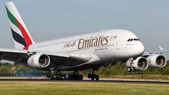 Emirates Airbus A380-861 A6-EDS (StephenG88) Tags: manchesterairport southside man egcc 23l 23r boeing airbus 5llanding landing touchdown 3rdjuly2018 3718 7318 emiratesairline emirates ek uae a380 a388 a380800 a380861 a6eds