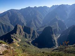 Machu Picchu, From the Top of Mount Machu Picchu 4