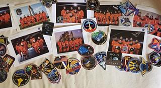 Megan Eskey's NASA Memorabilia