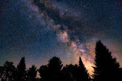 Clear Night (Nicholas Erwin) Tags: milkyway sky space stars galaxy astrophotography astronomy nature landscape night longexposure le silhouette fuji science fujifilmxt2 fujixt2 xt2 fujifilm xf1855mmf284rlmois xf1855 fujifilm1855 waterbury vermont vt unitedstatesofamerica usa america trees fav10 fav25 fav50