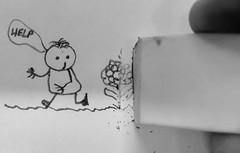Macro Monday Eraser (peterbaird100) Tags: mistake pencil sketch eraser macromonday