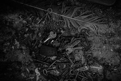 The Keys (stujfoster) Tags: farm shed urbex gritty urban uk england