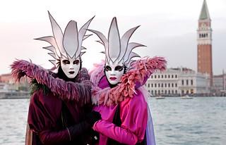 Mask Carnival Venice 2018
