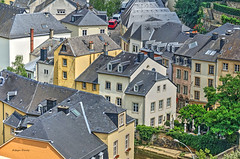 Grund-2 (albyn.davis) Tags: grund luxembourg europe travel city urban buildings architecture colors yellow rooftops perspective hdr