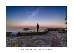 Watching the starry sky over Pittwater (sugarbellaleah) Tags: star starry sky night milkyway watching view pittwater palmbeach ocean dusk evening universe westhead lookout spectacular wonderful pretty amazing australia excellent wonder amazement astro astrophotography thisisaustralia