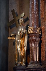 Prag-St.Nikolaus 5 (fotomänni) Tags: prag praha prague kirche church eglise stnikolaus sakralfotografie sakralekunst skulptur skulpturen sculpture manfredweis