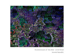 Enchantment of the other world forest by howard kendall (howardkendall42) Tags: forest otherworld creation howardkendall42