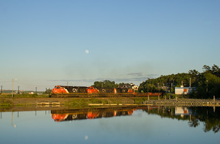 Golden Light Wet Noodle Reflections - Moirs Mills, NS