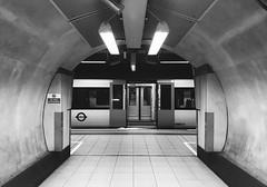 No flash photography (Aaron Ubasa) Tags: heathrowterminal4 heathrow tfl rail tflrail station platform siemens class 360 tunnel
