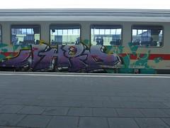 WHIP (mkorsakov) Tags: münster hbf bahnhof mainstation zug train ic intercity graffiti piece bunt colored whip