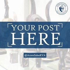 We would love to feature your order on our social media accounts! Simply post a photo of your stamp on Instagram and tag @acornsalesrva, or email a photo to artdept@acornsales.com. Acorn Sales Company, Inc. (acorn_s79) Tags: acorn richmond rva sales company inc