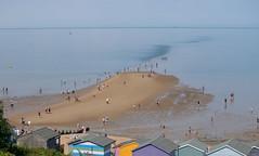 The street (kerryhilden) Tags: street beach beachhuts sea seaside beachlife people busy town seasidetown whitstable tankerton
