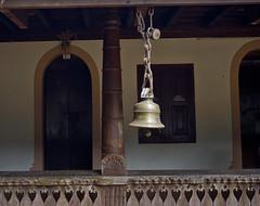 KERALA CHYNMAYA FOUNDATION SACRED BELL 559 (opaxir) Tags: india kerala chynmaya bell sacred monastery
