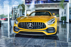 Mercedes Benz AMG GT C Roadster (Trippin' all over the place) Tags: roadster mercedes benz amc gt yellow fast furious loud expensive class classy luxury elite