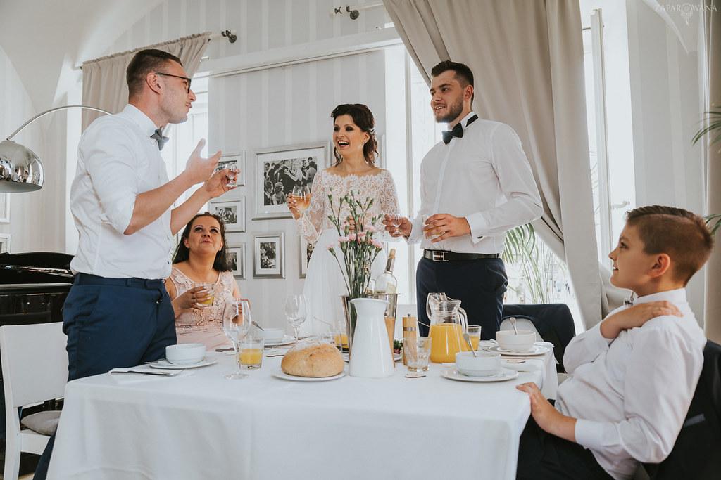 368 - ZAPAROWANA - Kameralny ślub z weselem w Bistro Warszawa