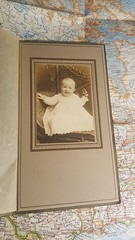 Antique Cabinet Card of Baby/ Infant (Paper on Steroids) Tags: antique cabinet card baby infant old picture photo portrait