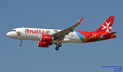 9H-NEO LMML 19-06-2018 (Burmarrad (Mark) Camenzuli Thank you for the 12.2) Tags: airline air malta aircraft airbus a320251n registration cn 7875 9hneo lmml 19062018