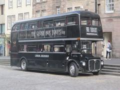 The Ghost Bus Tours Ltd. JJD 516D. The Royal Mile, Edinburgh (captaindeltic55) Tags: