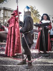 Bullet Head, Avignon (bobbex) Tags: france avignon papacy papal costume religious christian catholic catholicism