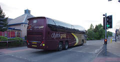 IMGP0909 (Steve Guess) Tags: hsk647 citylink gold plaxton elite coach bus aviemore highlands scotland gb uk parks hamilton volvo b12b