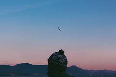 (papilionoidea_) Tags: sun sky sol sunset sea peace paradise pordosol paraiso florianopolis mar pink