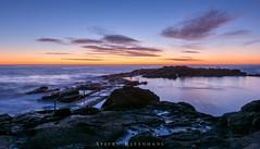 Sunrise surprise (StefanKleynhans) Tags: sunrise color colour pink purple blue orange nature landscape water ocean pool nikond7100 nikon1635f4 kiama nsw australia