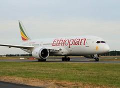 Ethiopian                             Boeing 787 Dreamliner                                     ET-ASH (Flame1958) Tags: ethiopian ethiopianairlines ethiopianairways ethiopianb787 ethiopiandreamliner dreamliner b787 787 boeing boeingdreamliner dub eidw dublinairport 250618 0618 2018 etash 4946