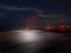 Lampo a luna piena (lucamarasca1) Tags: lungaesposizione fotonotturna nightphoto nikkorlens nikond5500 d5500 longexposure nikkor nikon thunder weater light nature storm lighting