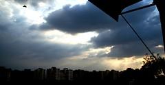 Indian Monsoon (RahulChandra23) Tags: home monsoon eveing rains dusk clouds nikon nikkor famous likes landscape planes popular follow me street photography india new delhi photoshoot bird