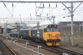 50049 & 50007 Crewe