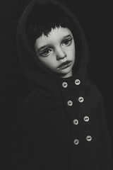 Norah († Jack †) Tags: bjd doll portrait dimdoll dollinmind dimdollannabeth abjd blackwhite