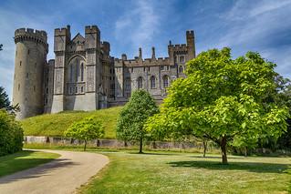 Approach to Arundel Castle