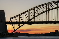Sydney Harbour Bridge (Bass Photography) Tags: sydneyharbour sydneyharbourbridge sunset sunrise bridge newsouthwales nsw australia australiansuburbs icon