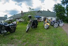 Ruukki Picnic - 2018 (aixcracker) Tags: samyang 8mm nikond200 ruukki picnic strömfors ruotsinpyhtää lovisa loviisa suomi finland car bil auto moottoripyörä motorcykel bike green grön vihreä blue blå sininen event tapahtuma summer sommar kesä july juli heinäkuu