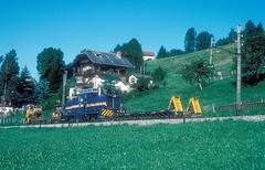 MOB 2003  Les Aconb  03.08.94 (w. + h. brutzer) Tags: lesaconb eisenbahn eisenbahnen train trains schweiz switzerland railway diesellok mob webru analog nikon