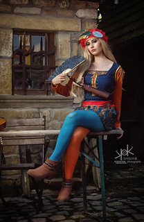 The Witcher Cosplay Portraits: Priscilla, by SpirosK photography