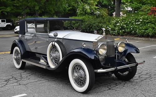 4 Door Convertible >> 1928 Rolls Royce Phantom I 4 Door Convertible A Photo On Flickriver