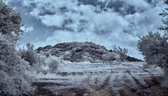 Infrared landscape. (hajavitolak) Tags: infrarrojos paisaje landscape monteolárizu olárizu alava basquecountry paisvasco clouds nubes naturaleza nature sinespejo evil csc mirrorles sony sonya6000 3518 infrared