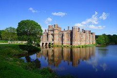 Herstmonceux Castle - yet again !!! (Jayembee69) Tags: castle herstmonceuxcastle herstmonceux sussex moat water reflection may spring springtime history historic 15thcentury england english britain british uk unitedkingdom gb fortress fort