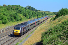 43304. (curly42) Tags: 43304 class43 hst 125 axc railway standishjunction highspeedtrain express arriva 1v48