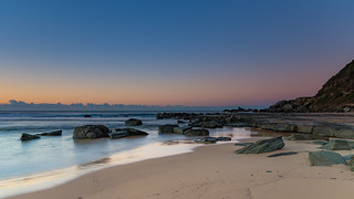 Rocky Sunrise Seashore